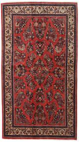 Saruk Sherkat Farsh Dywan 130X232 Orientalny Tkany Ręcznie Ciemnoczerwony/Rdzawy/Czerwony (Wełna, Persja/Iran)