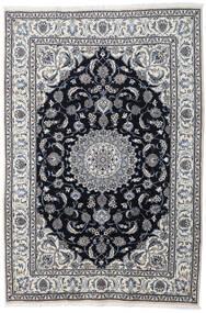Nain Dywan 197X290 Orientalny Tkany Ręcznie Jasnoszary/Ciemnoszary (Wełna, Persja/Iran)