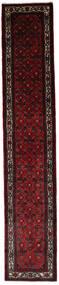 Asadabad Dywan 83X447 Orientalny Tkany Ręcznie Chodnik Ciemnobrązowy/Ciemnoczerwony (Wełna, Persja/Iran)
