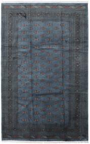 Pakistański Bucharski 3Ply Dywan 205X315 Orientalny Tkany Ręcznie Ciemnoniebieski/Ciemnoszary (Wełna, Pakistan)