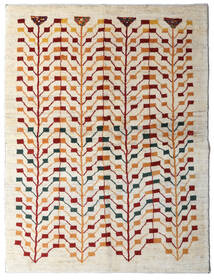 Gabbeh (Persja) Dywan 151X198 Nowoczesny Tkany Ręcznie Beżowy/Jasnoszary (Wełna, Persja/Iran)