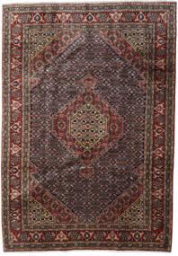 Ardabil Dywan 200X286 Orientalny Tkany Ręcznie Ciemnobrązowy/Ciemnoszary (Wełna, Persja/Iran)