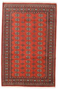 Pakistański Bucharski 2Ply Dywan 159X248 Orientalny Tkany Ręcznie Ciemnoczerwony/Rdzawy/Czerwony (Wełna, Pakistan)