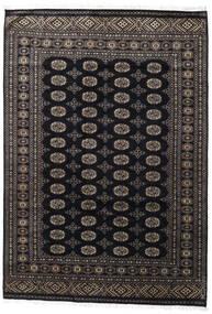 Pakistański Bucharski 2Ply Dywan 171X247 Orientalny Tkany Ręcznie Czarny/Ciemnoszary (Wełna, Pakistan)