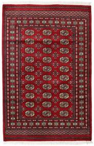 Pakistański Bucharski 2Ply Dywan 125X190 Orientalny Tkany Ręcznie Ciemnoczerwony/Czerwony (Wełna, Pakistan)