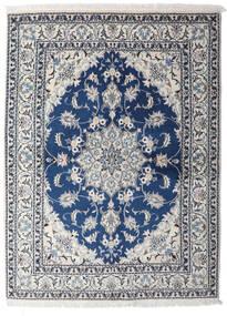 Nain Dywan 153X206 Orientalny Tkany Ręcznie Jasnoszary/Ciemnoniebieski (Wełna, Persja/Iran)