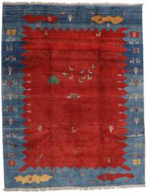 Gabbeh Rustic Dywan 259X331 Nowoczesny Tkany Ręcznie Rdzawy/Czerwony/Ciemnoniebieski Duży (Wełna, Persja/Iran)