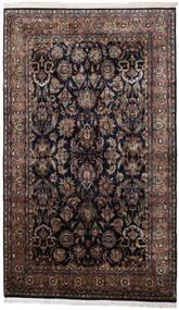 Keszan Indie Dywan 186X310 Orientalny Tkany Ręcznie Czarny/Ciemnobrązowy (Wełna, Indie)