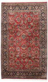 Keszan Indie Dywan 190X316 Orientalny Tkany Ręcznie Ciemnoczerwony/Ciemnobrązowy (Wełna, Indie)