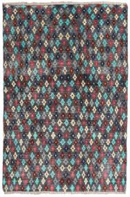 Moroccan Berber - Afghanistan Dywan 158X207 Nowoczesny Tkany Ręcznie Ciemnoszary/Czarny (Wełna, Afganistan)