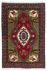 Gabbeh Kaszkuli Dywan 80X122 Nowoczesny Tkany Ręcznie Ciemnoczerwony/Ciemnoszary (Wełna, Persja/Iran)
