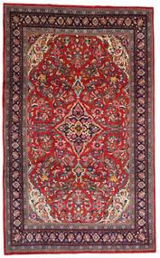 Mahal Dywan 215X345 Orientalny Tkany Ręcznie Ciemnoczerwony/Ciemnobrązowy (Wełna, Persja/Iran)