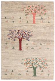 Loribaft (Persja) Dywan 100X149 Nowoczesny Tkany Ręcznie Jasnoszary/Beżowy (Wełna, Persja/Iran)