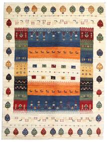 Loribaft (Persja) Dywan 154X207 Nowoczesny Tkany Ręcznie Beżowy/Ciemnoniebieski (Wełna, Persja/Iran)