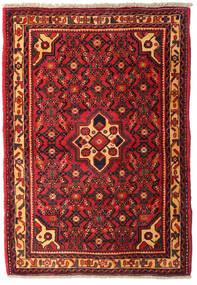 Hamadan Dywan 102X146 Orientalny Tkany Ręcznie Ciemnoczerwony/Czarny (Wełna, Persja/Iran)