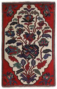 Kilim Golbarjasta Dywan 95X145 Orientalny Tkany Ręcznie Ciemnoszary/Jasnoszary (Wełna, Afganistan)