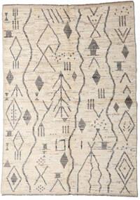 Moroccan Berber - Afghanistan Dywan 167X234 Nowoczesny Tkany Ręcznie Jasnoszary/Beżowy (Wełna, Afganistan)