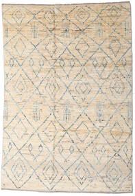Moroccan Berber - Afghanistan Dywan 163X237 Nowoczesny Tkany Ręcznie Beżowy/Jasnoszary (Wełna, Afganistan)