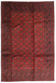 Afgan Dywan 196X286 Orientalny Tkany Ręcznie Ciemnoczerwony/Rdzawy/Czerwony (Wełna, Afganistan)