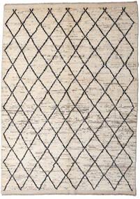 Moroccan Berber - Afghanistan Dywan 172X232 Nowoczesny Tkany Ręcznie Jasnoszary/Beżowy (Wełna, Afganistan)