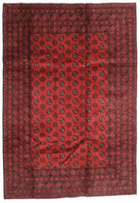 Afgan Dywan 202X289 Orientalny Tkany Ręcznie Ciemnoczerwony/Rdzawy/Czerwony (Wełna, Afganistan)