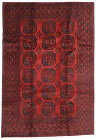 Afgan Dywan 196X284 Orientalny Tkany Ręcznie Ciemnoczerwony/Ciemnobrązowy (Wełna, Afganistan)