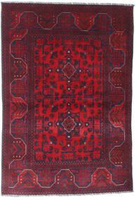 Afgan Khal Mohammadi Dywan 101X148 Orientalny Tkany Ręcznie Ciemnoczerwony/Ciemnofioletowy (Wełna, Afganistan)