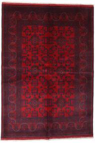 Afgan Khal Mohammadi Dywan 162X234 Orientalny Tkany Ręcznie Ciemnoczerwony/Czerwony (Wełna, Afganistan)