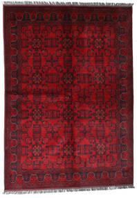 Afgan Khal Mohammadi Dywan 170X240 Orientalny Tkany Ręcznie Ciemnoczerwony/Czerwony (Wełna, Afganistan)