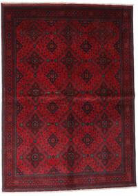 Afgan Khal Mohammadi Dywan 168X232 Orientalny Tkany Ręcznie Ciemnoczerwony/Czerwony (Wełna, Afganistan)