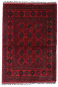 Afgan Khal Mohammadi Dywan 101X145 Orientalny Tkany Ręcznie Ciemnoczerwony/Ciemnobrązowy/Czerwony (Wełna, Afganistan)