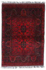 Afgan Khal Mohammadi Dywan 105X148 Orientalny Tkany Ręcznie Ciemnoczerwony/Czerwony (Wełna, Afganistan)