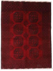 Afgan Dywan 147X195 Orientalny Tkany Ręcznie Ciemnoczerwony/Ciemnobrązowy (Wełna, Afganistan)