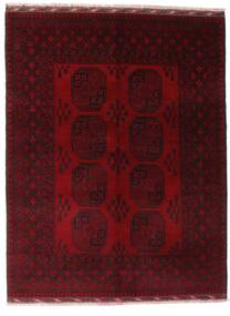 Afgan Dywan 154X201 Orientalny Tkany Ręcznie Ciemnoczerwony (Wełna, Afganistan)