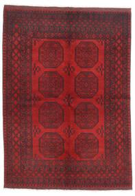 Afgan Dywan 172X236 Orientalny Tkany Ręcznie Ciemnoczerwony/Ciemnobrązowy/Czerwony (Wełna, Afganistan)