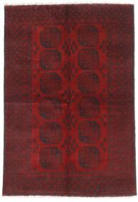 Afgan Dywan 160X232 Orientalny Tkany Ręcznie Ciemnoczerwony/Ciemnobrązowy (Wełna, Afganistan)