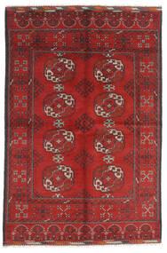 Afgan Dywan 165X246 Orientalny Tkany Ręcznie Ciemnoczerwony/Rdzawy/Czerwony (Wełna, Afganistan)