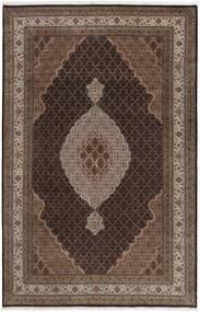 Tebriz Royal Dywan 196X290 Orientalny Tkany Ręcznie Ciemnobrązowy/Brązowy ( Indie)