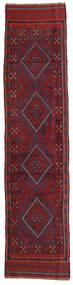 Kilim Golbarjasta Dywan 57X248 Orientalny Tkany Ręcznie Chodnik Ciemnoczerwony/Ciemnofioletowy (Wełna, Afganistan)