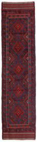 Kilim Golbarjasta Dywan 58X238 Orientalny Tkany Ręcznie Chodnik Ciemnoczerwony/Ciemnofioletowy (Wełna, Afganistan)