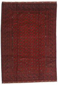 Afgan Dywan 206X289 Orientalny Tkany Ręcznie Ciemnoczerwony/Ciemnobrązowy (Wełna, Afganistan)