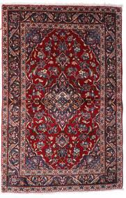 Keszan Dywan 97X150 Orientalny Tkany Ręcznie Ciemnoczerwony (Wełna, Persja/Iran)