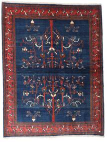Gabbeh Kaszkuli Dywan 154X200 Nowoczesny Tkany Ręcznie Ciemnofioletowy/Ciemnoniebieski (Wełna, Persja/Iran)