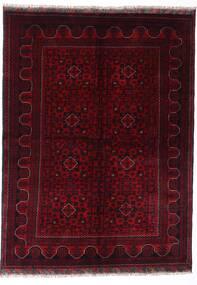 Kunduz Dywan 147X198 Orientalny Tkany Ręcznie Ciemnoczerwony (Wełna, Afganistan)