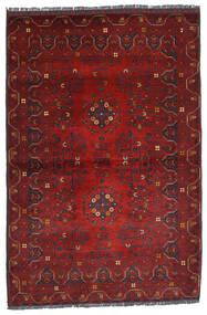 Kunduz Dywan 100X150 Orientalny Tkany Ręcznie Ciemnoczerwony (Wełna, Afganistan)