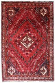 Kaszkaj Dywan 205X308 Orientalny Tkany Ręcznie Ciemnoczerwony/Czerwony (Wełna, Persja/Iran)