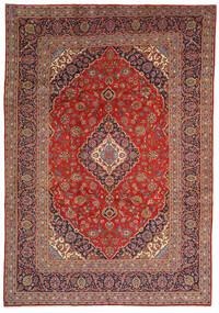 Keszan Dywan 240X350 Orientalny Tkany Ręcznie Ciemnobrązowy/Ciemnoczerwony (Wełna, Persja/Iran)
