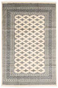 Pakistański Bucharski 2Ply Dywan 182X279 Orientalny Tkany Ręcznie Jasnoszary/Beżowy (Wełna, Pakistan)