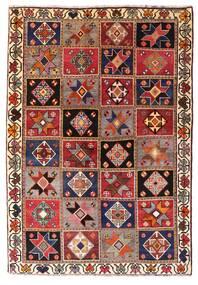 Kaszkaj Dywan 136X197 Orientalny Tkany Ręcznie Ciemnoczerwony/Ciemnobrązowy (Wełna, Persja/Iran)