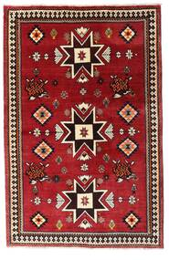 Kaszkaj Dywan 127X197 Orientalny Tkany Ręcznie Ciemnoczerwony (Wełna, Persja/Iran)